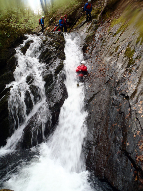Canyoning In North Wales Extreme Canyon Adventure Snowdonia